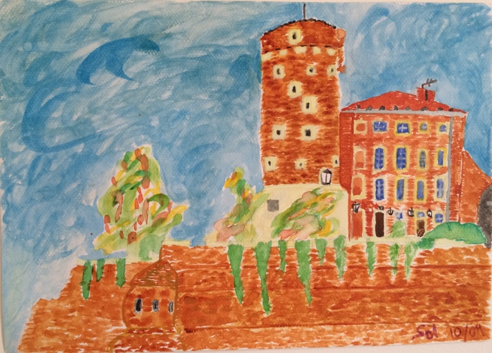 Wawel Castle by Solveig Werner,  2009