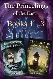 Princelings of the East Books 1-3 cover