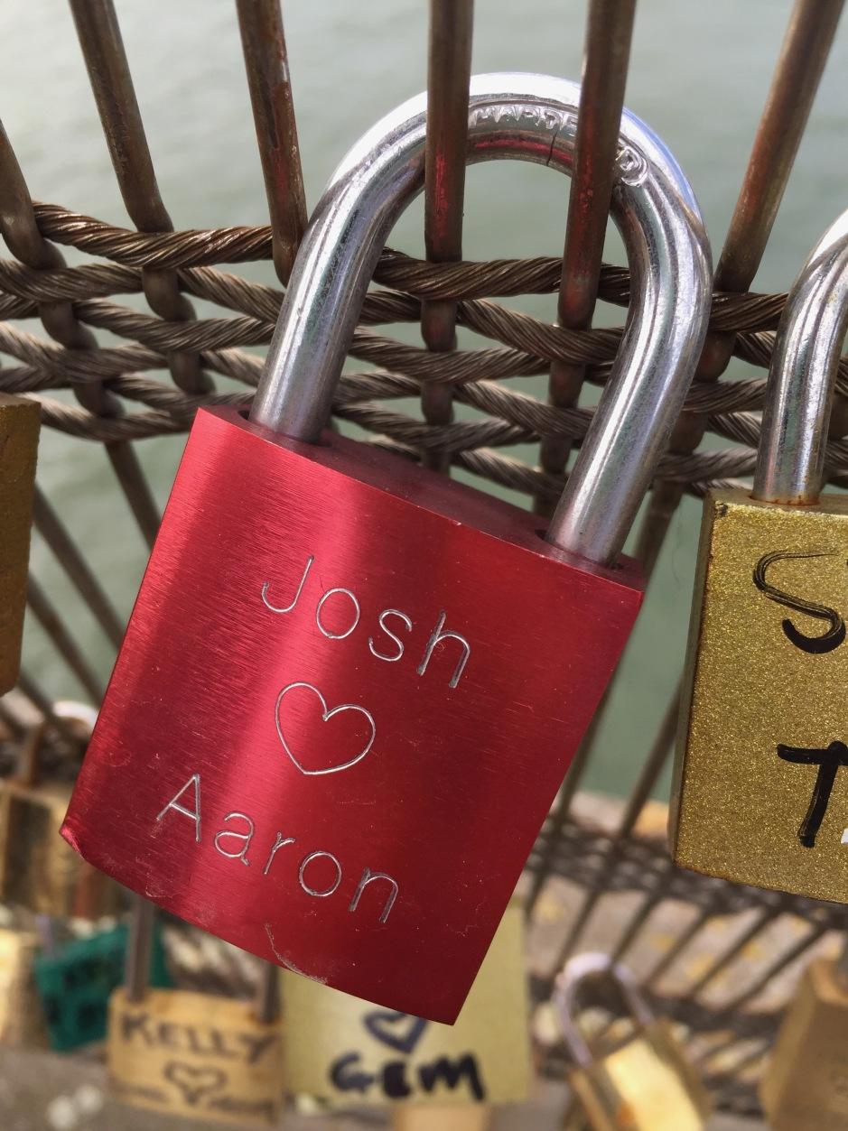Love Lock Josh and Aaron